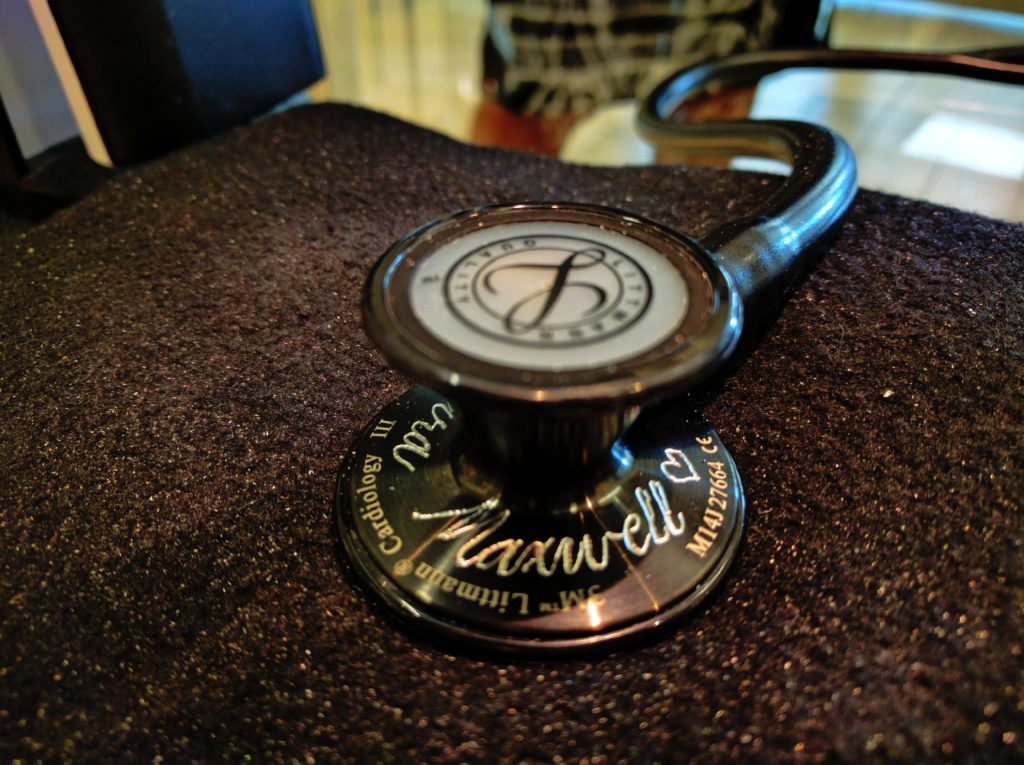 stethoscope engraving