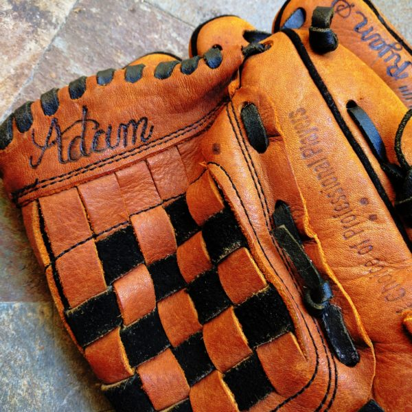 personalized baseball gloves