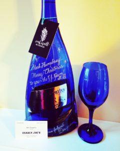 engraved wine bottles