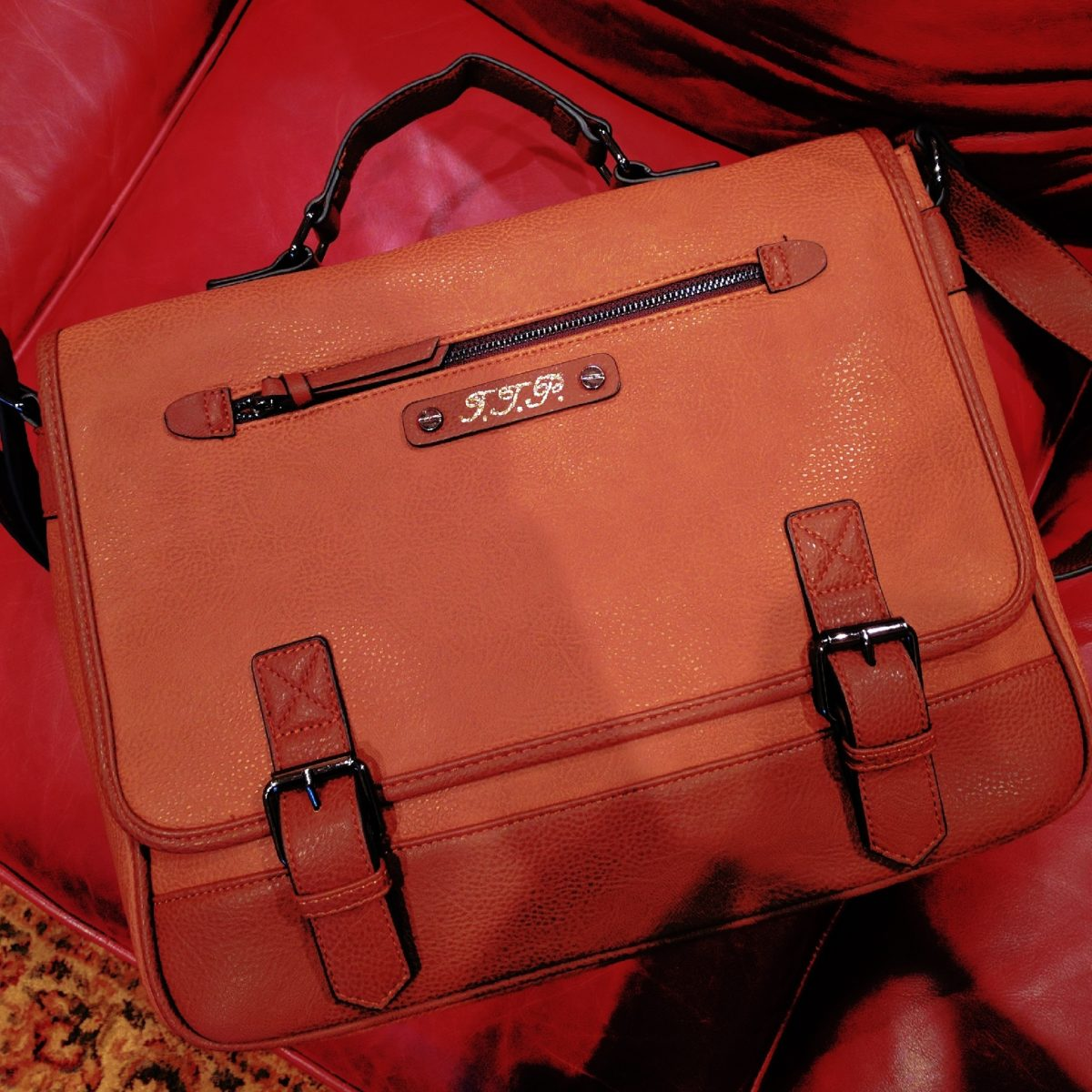 Leather Monogramming Makes Leather Gifts Even More Special