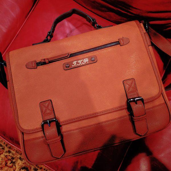leather monogramming