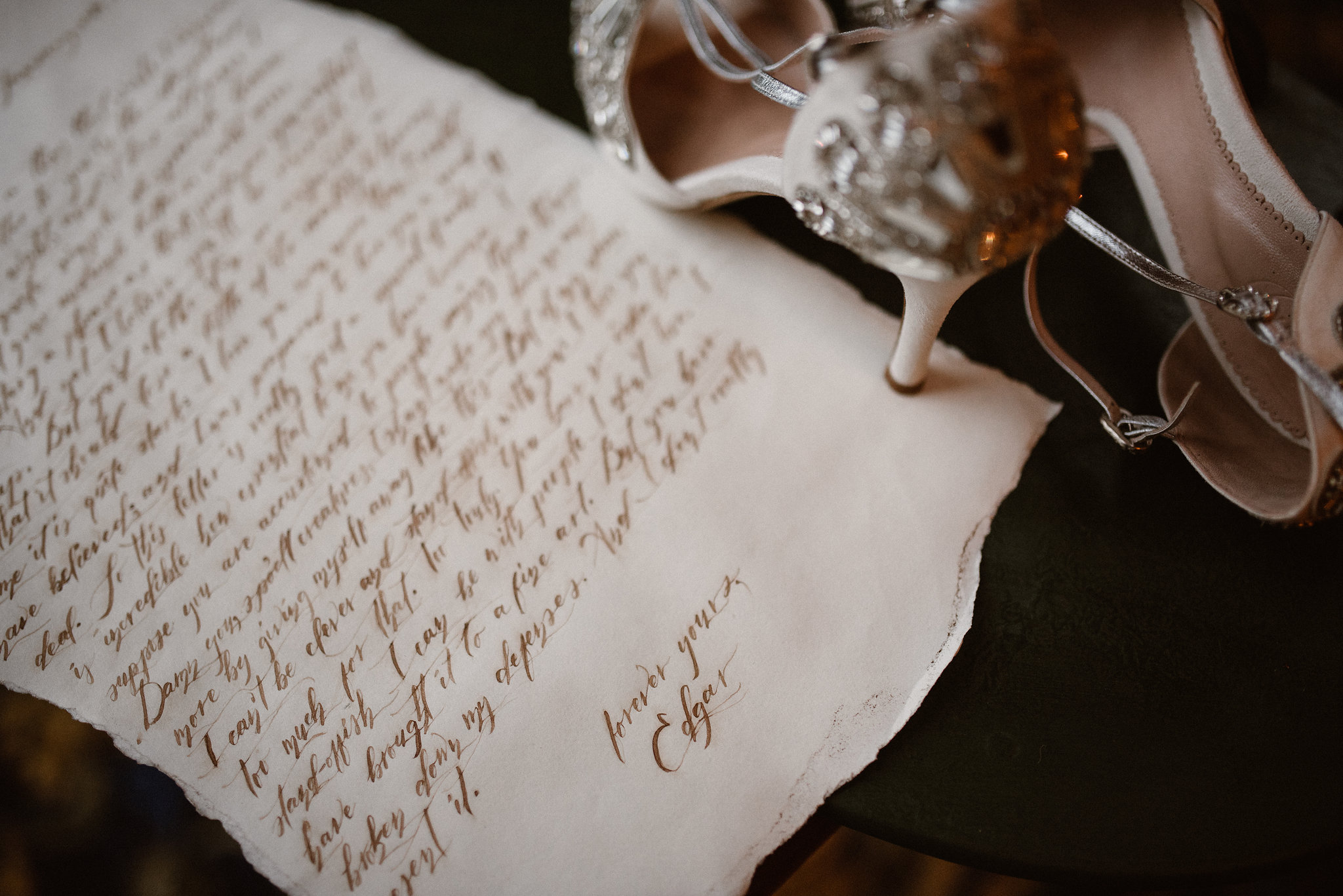 Handwritten Love Letters And Wedding Vows Make Beautiful Artwork