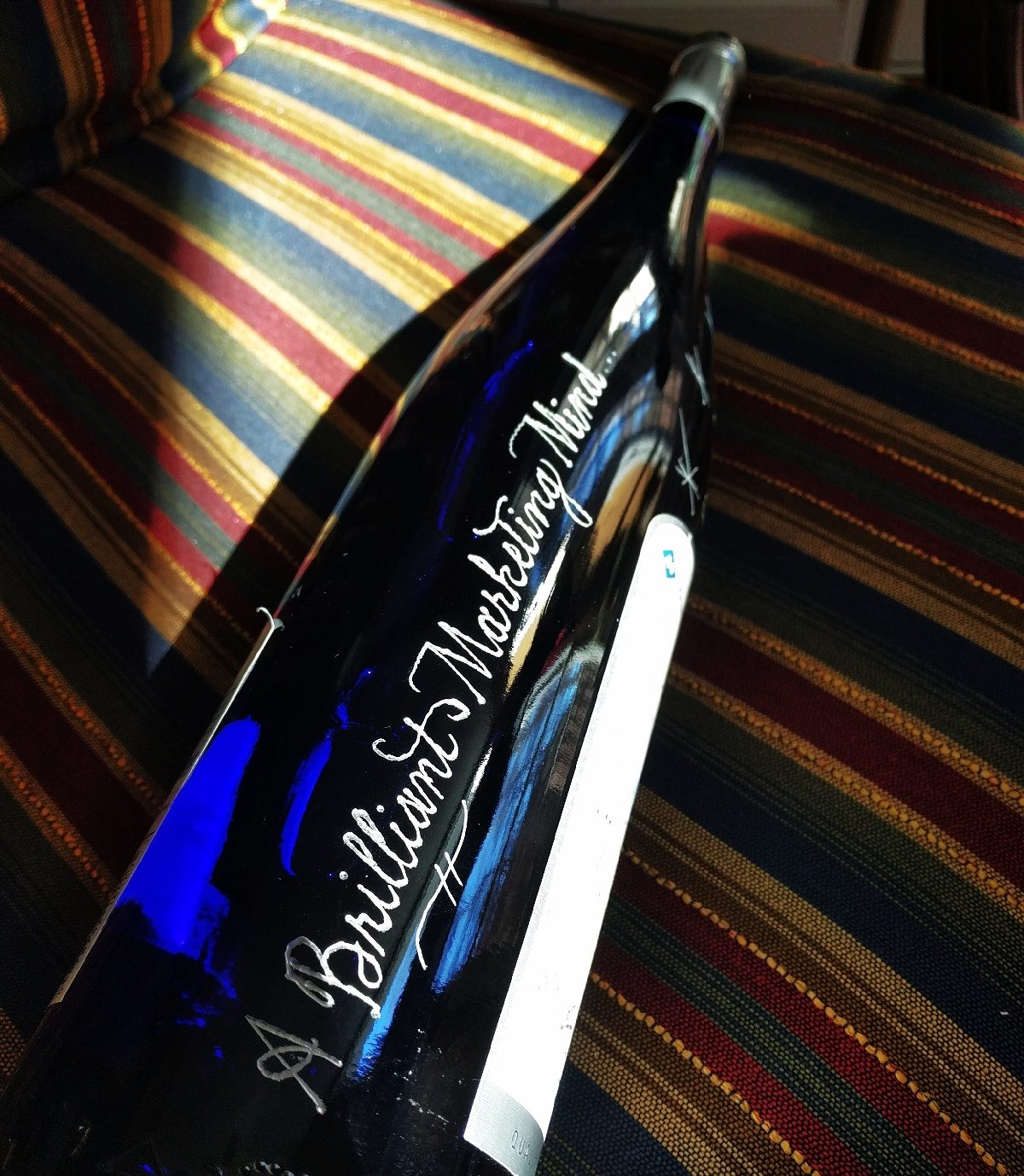An Engraved Wine Bottle Always Makes a Memorable Corporate Gift