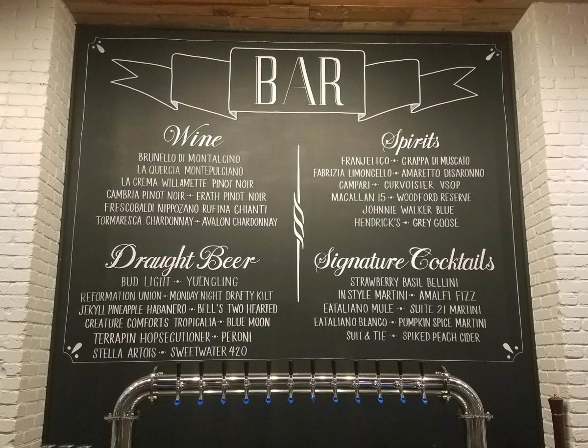 chalkboard menus for restaurants coffee shops breweries and wine bars