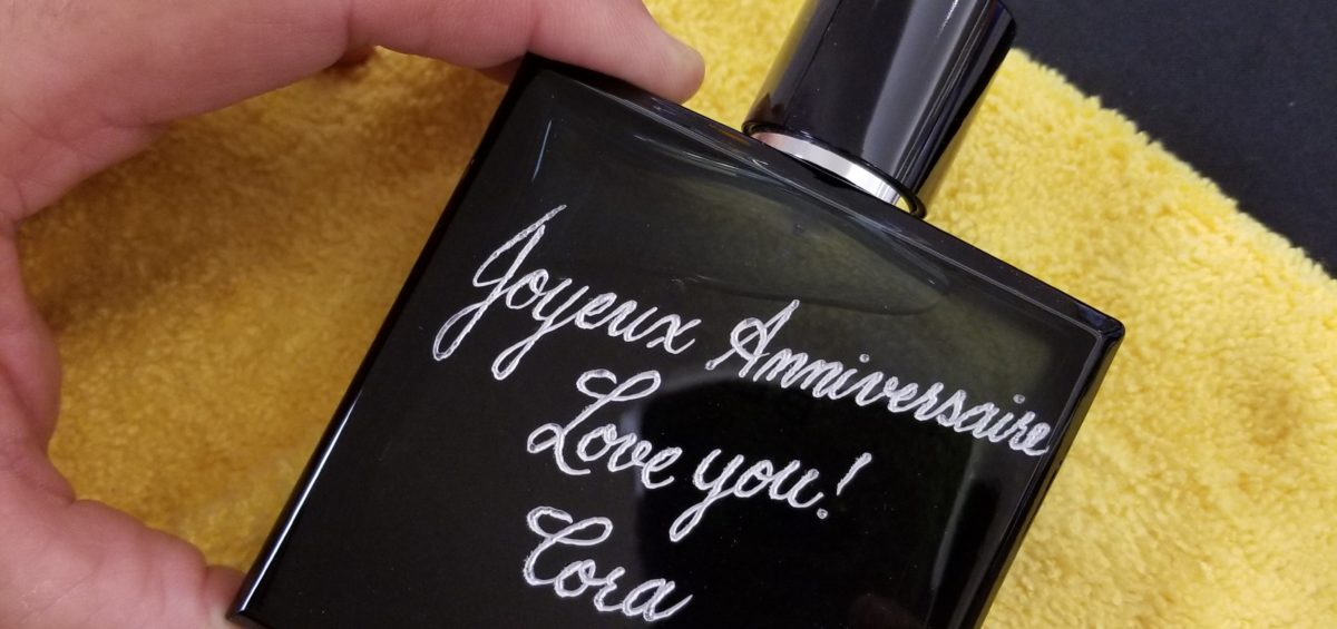 fragrance engraving events
