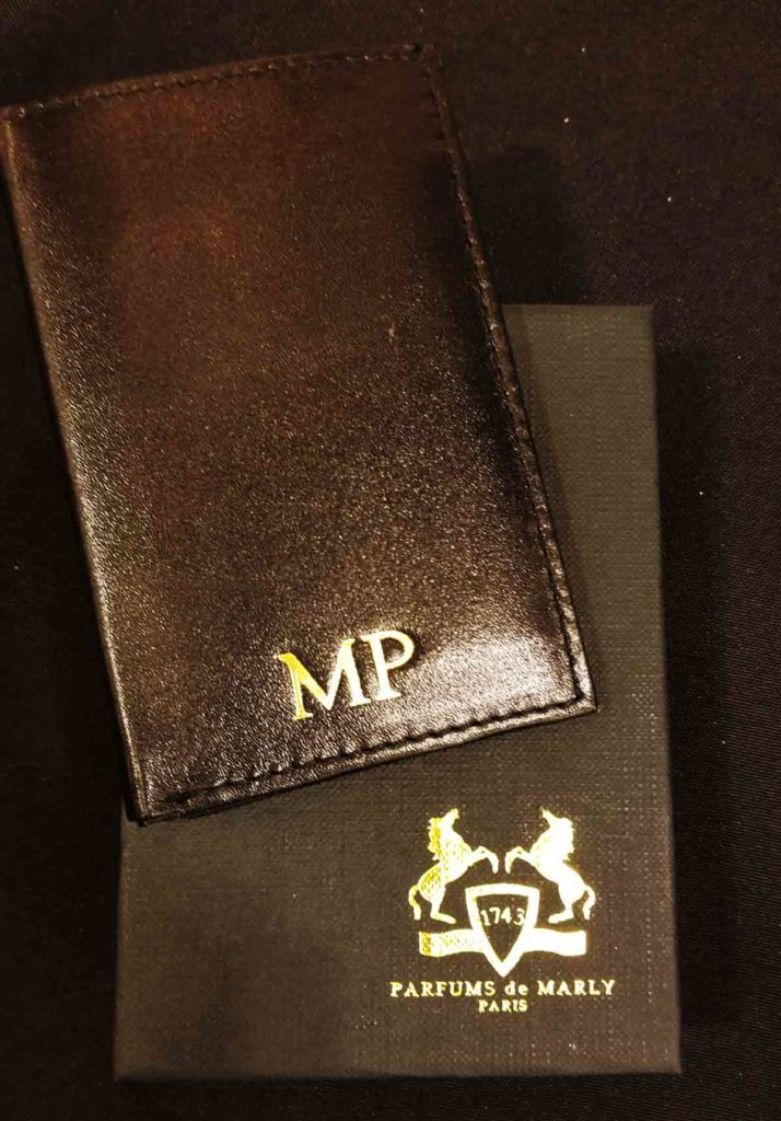 leather monogramming events