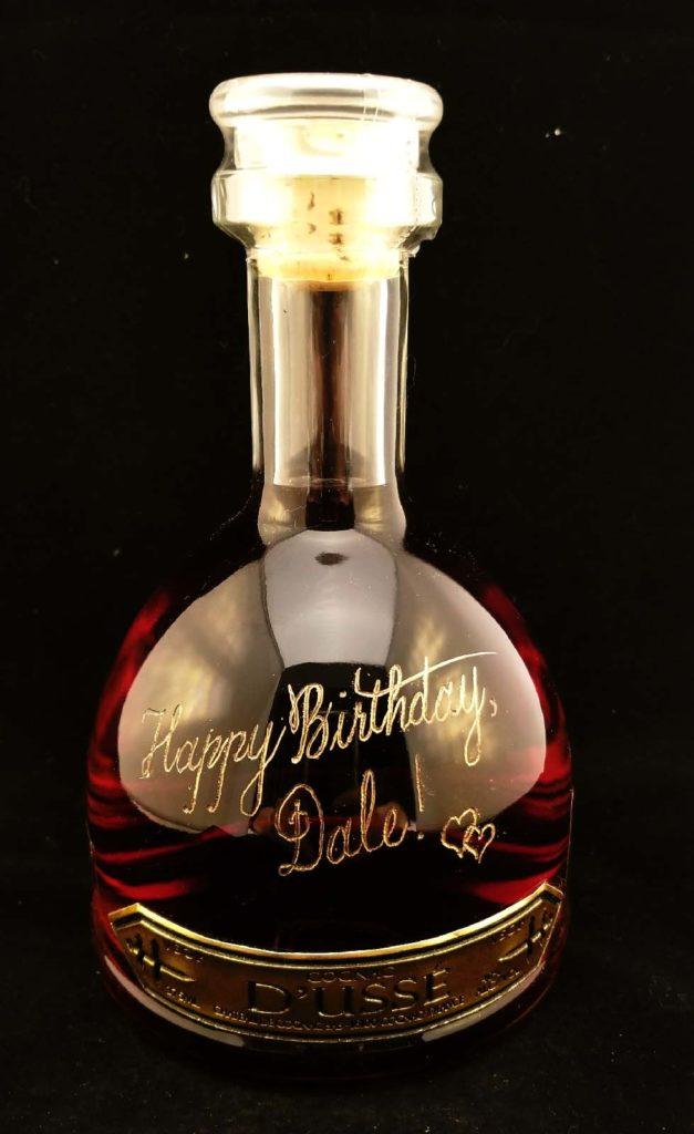 liquor bottle engraver