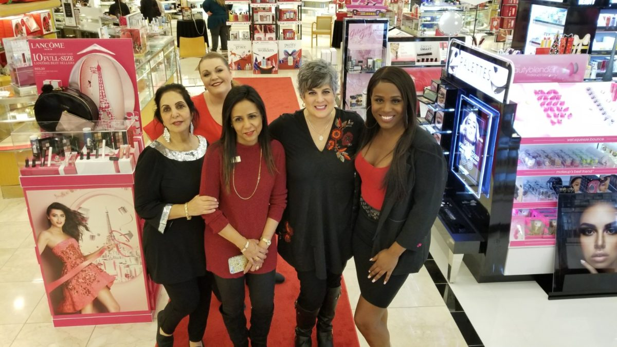 Perfume Engraving Season Begins at Dillard's Scentsational Events