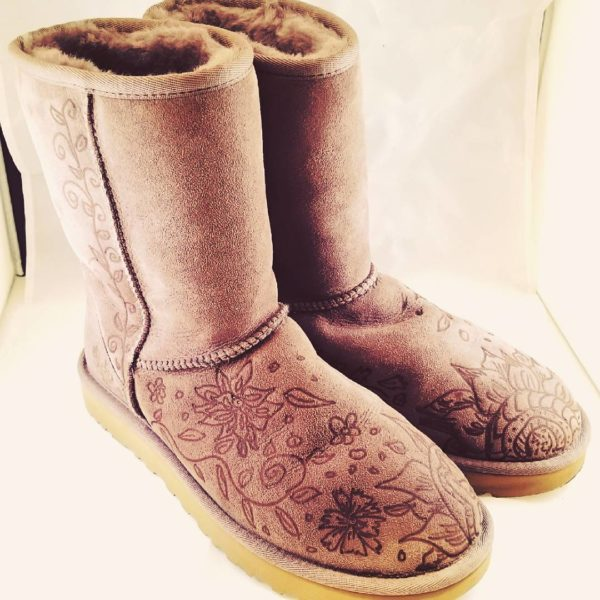 Custom UGG Design Created for A Client in Wisconsin