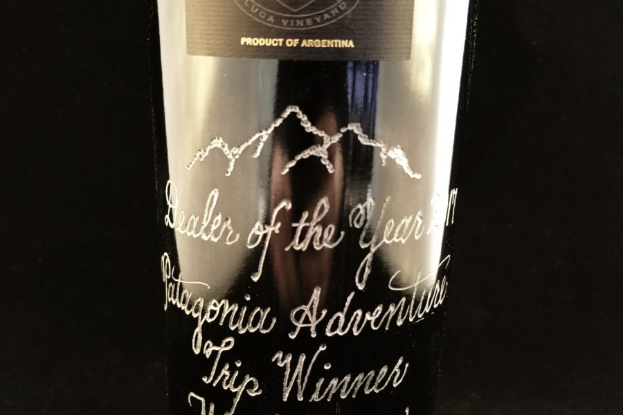 hand engraved wine bottles