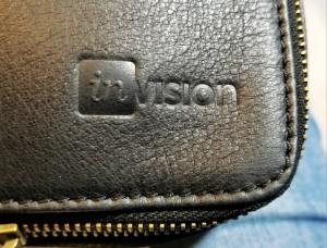 corporate logo debossing