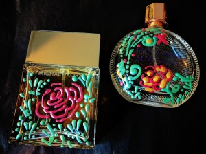 fragrance bottle painting