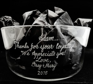 award engraving